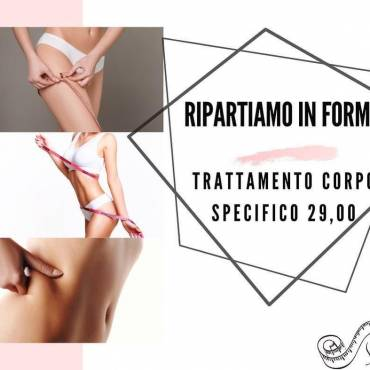 RIPARTIAMO IN FORMA!